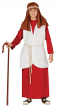 RED SHEPHERD BOY INN KEEPER NATIVITY COSTUME